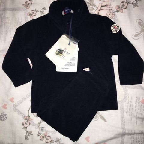 baby moncler tracksuit