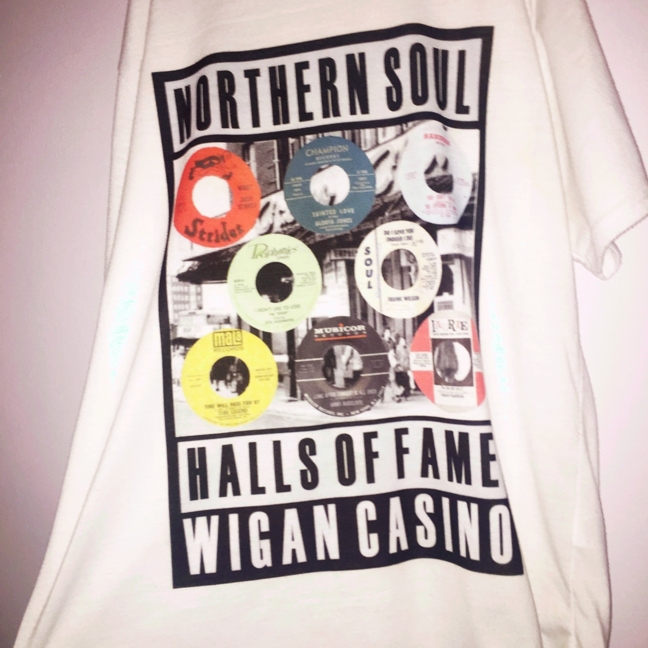 Northern soul t-shirt, size small - Depop