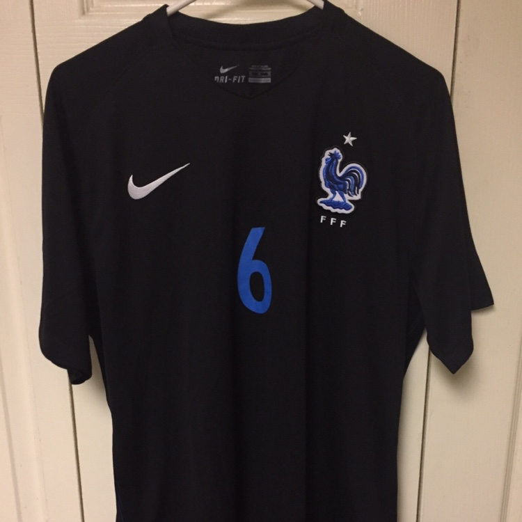 brand new 9c668 c6df7 Nike France Pogba #6 jersey men's extra large.... - Depop