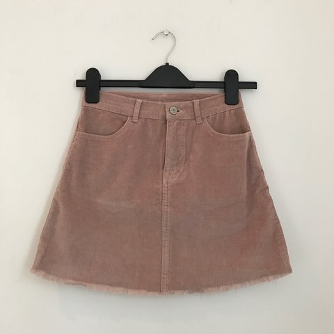 27ca996dbf @preyalucas. 2 years ago. London, United Kingdom. nude pink cord skirt from brandy  melville. says one size ...