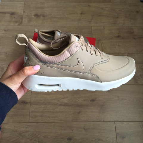NIKE AIR MAX THEA PREMIUM in sand beige tan - UK 5 - SOLD - - Depop b4f70807f