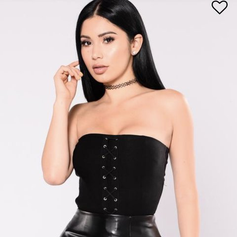 c85fe3ae801 Fashion Nova Tube top BRAND NEW❗ ❗ Size 3x also very  cute - Depop