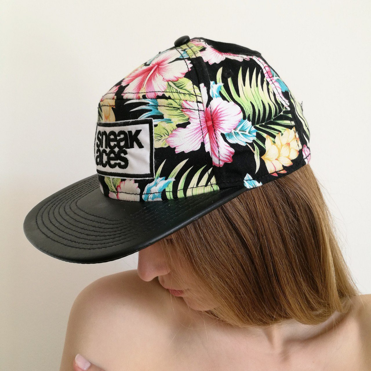 Sneak Aces Tropical Baseball Hat One Size 🔸 Condition for - Depop 0e0acc5137f