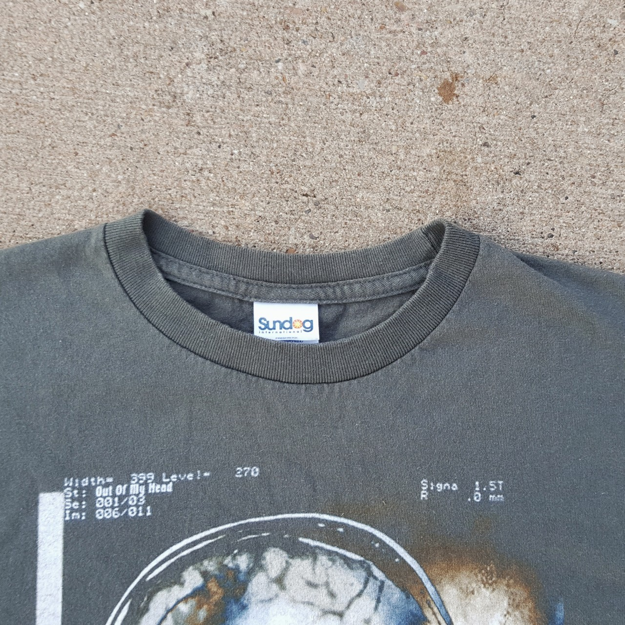 PUDDLE OF MUDD 2002 TOUR T SHIRT // spellout and    - Depop