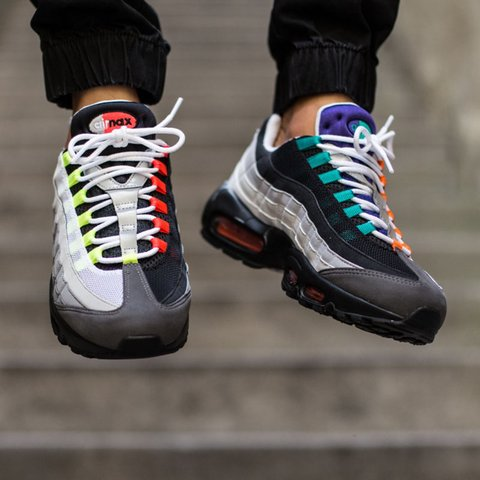 Want to buy  Nike air max 95 Greedy or Stussy in the olive a - Depop 5d48773fe
