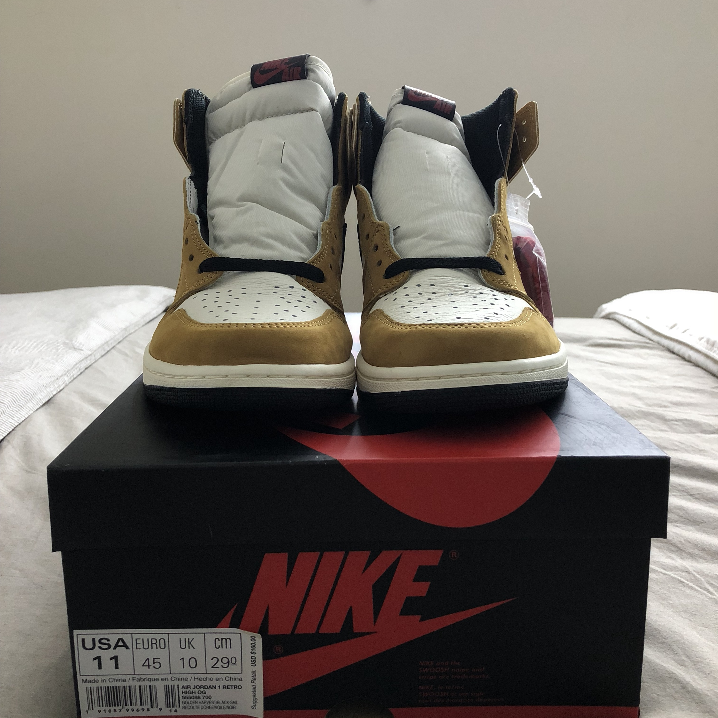 Air Jordan 1 Rookie Of The Year Size