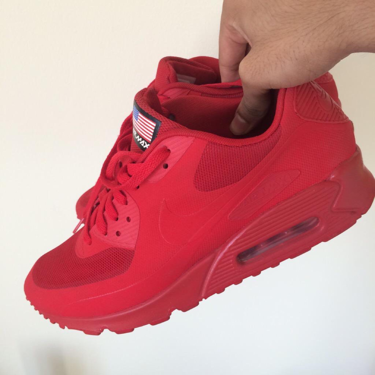 Nike Air Max 90 Independence Day Hyperfuse Red. Size