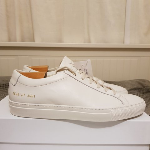 efe61079b4ec Common Projects Achilles Low Warm White Brand New UK 7 - Depop
