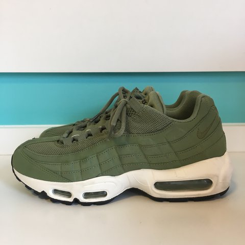 435c55aa84 Khaki olive green Nike Air Max 95. Brand new with original - Depop