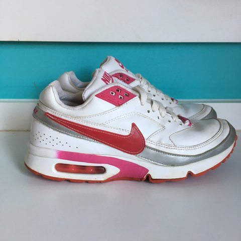 super popular 821d4 19caf  charlierichards1. last year. Nottingham, United Kingdom. White red and  pink Nike Air Max BW. UK 5. EU 38.