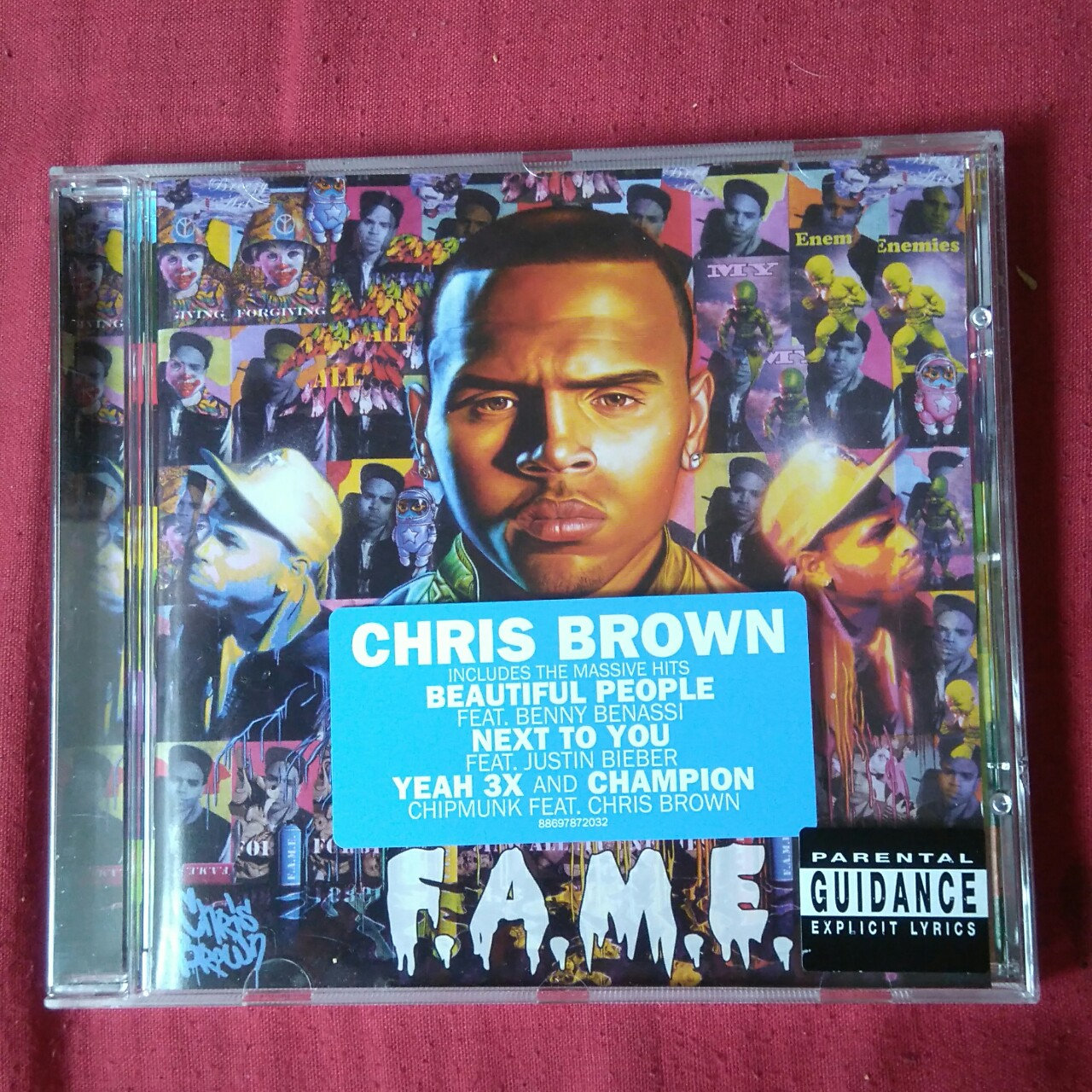 Chris Brown - F A M E CD Nearly new condition - Depop