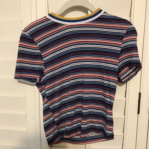 64811a90c2 @tobigoodkin. last year. Roswell, United States. Urban Outfitters striped  shirt 👕
