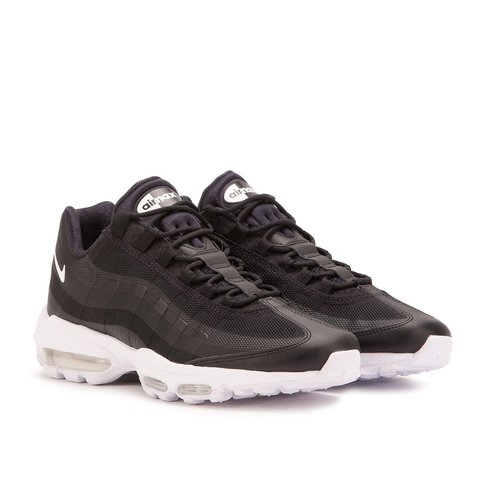 ae2c5cc821 2nd pair of Nike Air Max 95 Ultra Black and white very In to - Depop