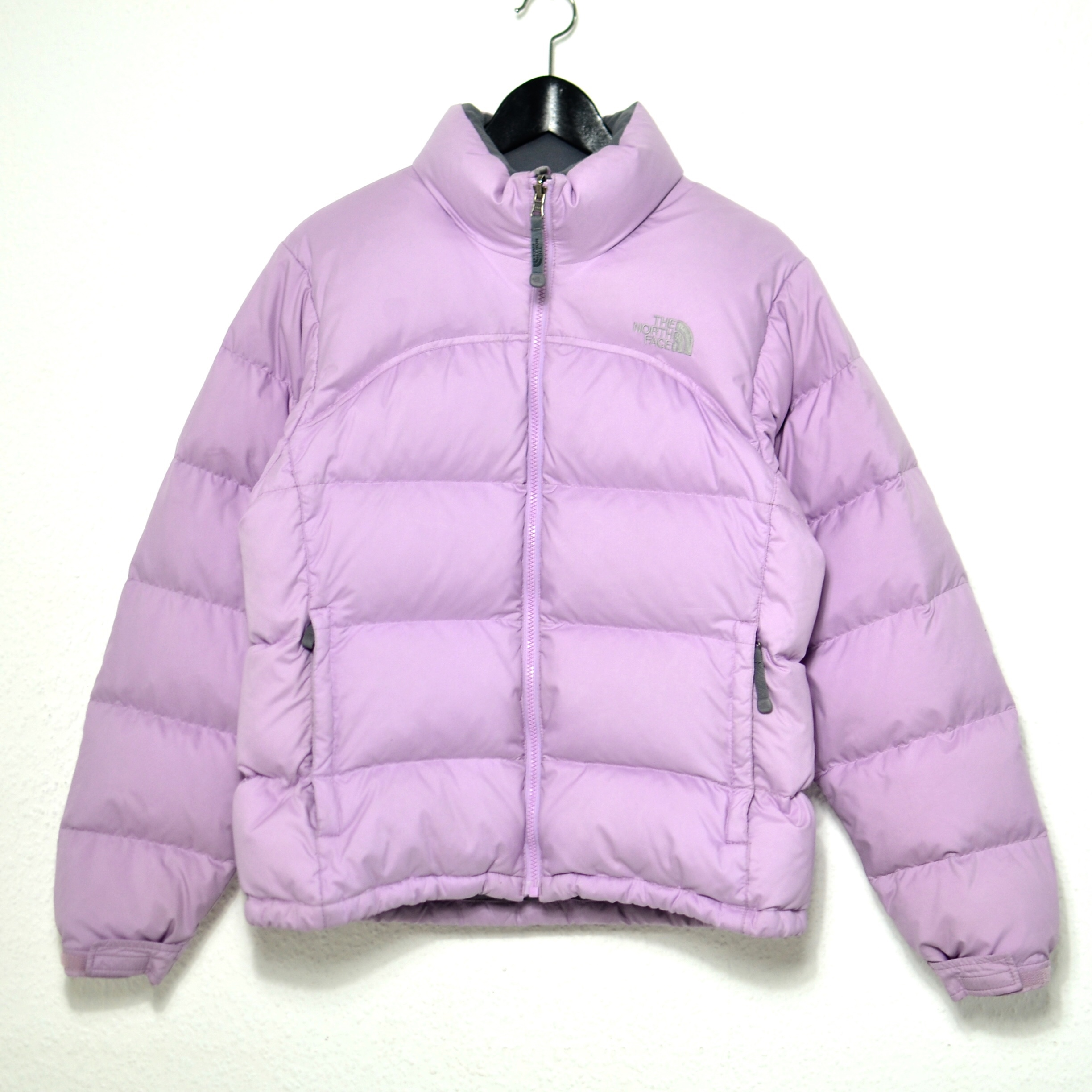 the latest f740b 97b8f Pink lavender tnf The North Face Nuptse 700 puffer... - Depop