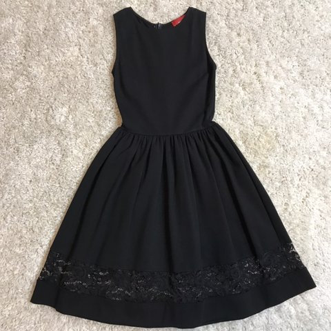 cba5305b5d2d @finderskeepersconsignments. 7 months ago. Glens Falls, United States. RED Saks  Fifth Avenue black dress, size ...
