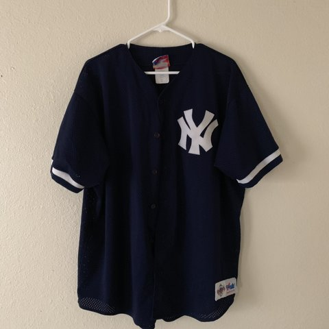 6765f2ea @veeejzilla. 7 months ago. San Diego, United States. Majestic mesh New York  Yankees jersey