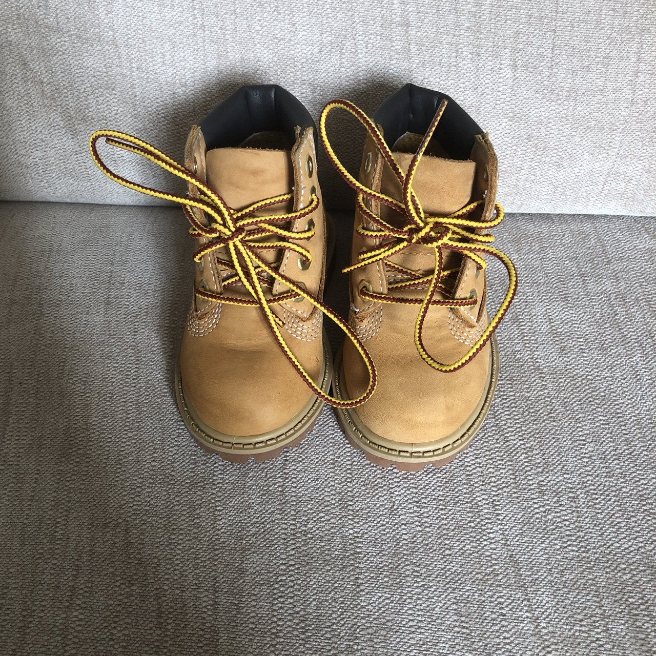 Boys infant wheat timberland boots