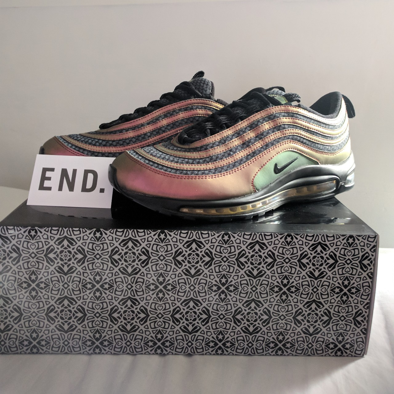 Nike Air Max 97 Sk DS in Size UK10US11 WBox Price Depop