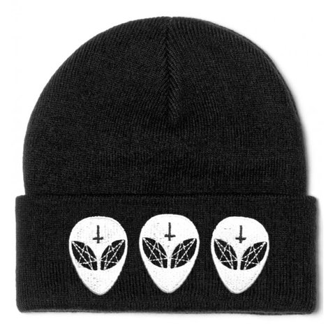 a0fb383cae2ac Killstar Alien beanie ✨ Great condition! Offers welcome! And - Depop