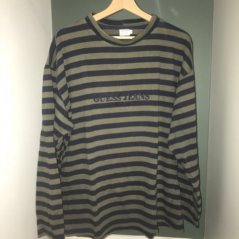 a8f2029859b7 @zachsamuelk. 4 months ago. Cardiff, United Kingdom. Vintage Guess Jeans  Long-sleeve tee