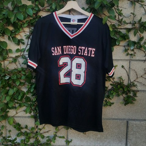 best website a9e23 bb7ba Vintage Marshall Faulk SDSU Fan Jersey! 》Size XL,... - Depop