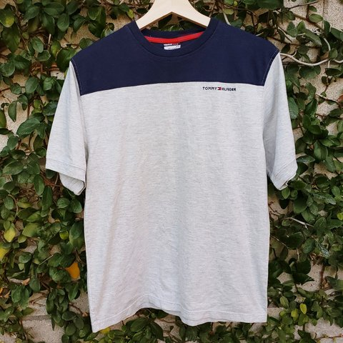 8f3b5785 @adamacosta. 4 months ago. Fontana, San Bernardino County, United States. Vintage  Tommy Hilfiger Basic Tee! Size Large. Great condition with no ...