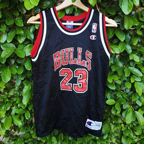 34d4f01e744ad6 Vintage 90s Champion Michael Jordan Chicago Bulls youth or a - Depop