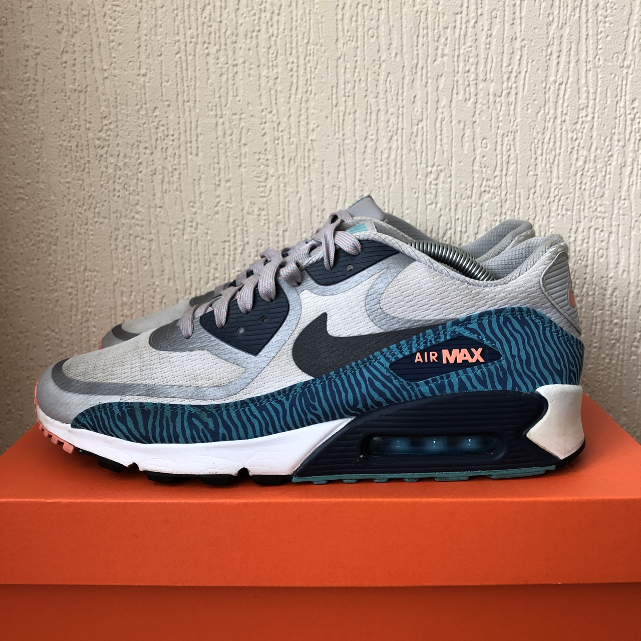 Nike air max 90 PRM tape | Size UK 9 | 810 Depop