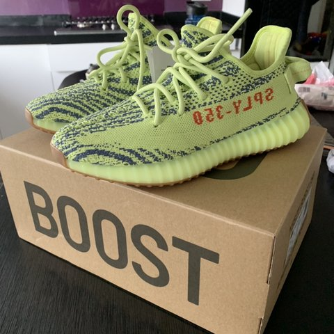 a82b2bb3b8c67 YEEZY BOOST 35 V2 women s size 6 Brand new and authentic. me - Depop