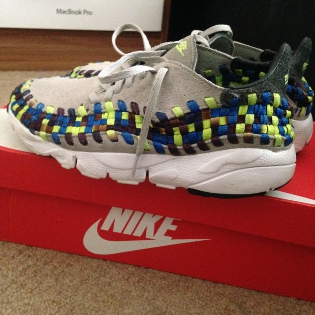 cheap for discount 8e3d7 49c28  ayogabriel. 4 years ago. Salford, United Kingdom. Air footscape woven  motion (granite blue  volt) ...