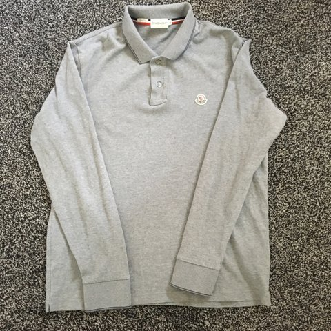 2c189714 @kieronbrook. 2 years ago. Leeds, UK. Moncler Polo Shirt. Size L although  it can fit both a L and M. ...