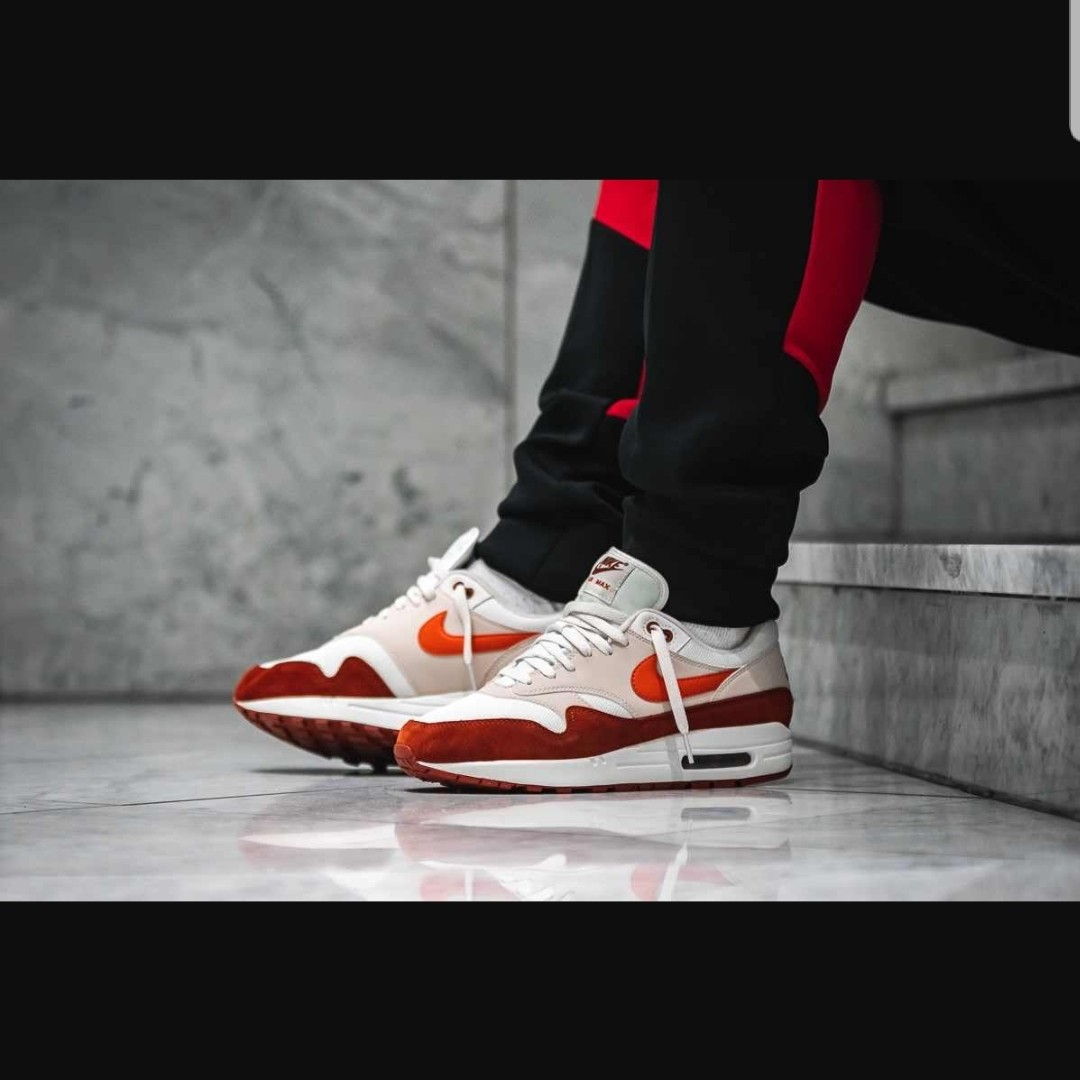 Nike Air Max 1 Mars Stone UK 12. I bought these and Depop