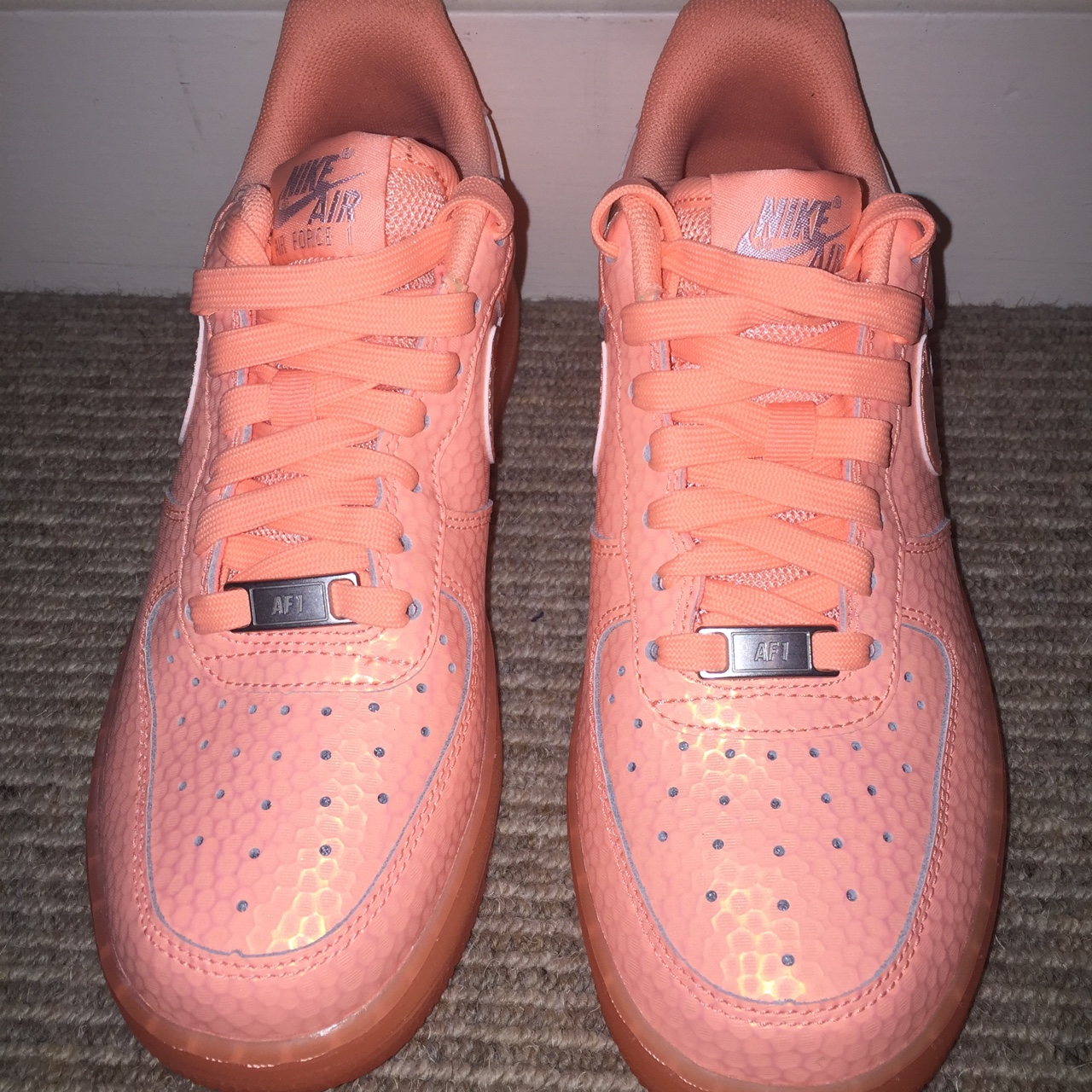 Nike Air Force 1 sunset glow these are limited Depop