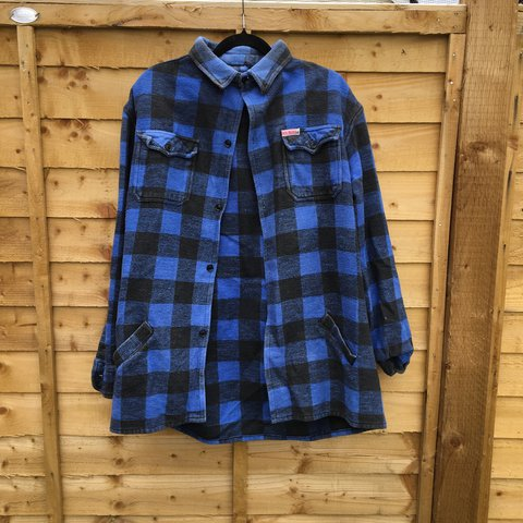 c22e33832 men s XXL Rocky Mountains lumberjack plaid shirt. As usual I - Depop