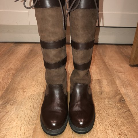 78214860aa5 Women s Dubarry Galway Slimfit Boots Colour walnut Size a a - Depop