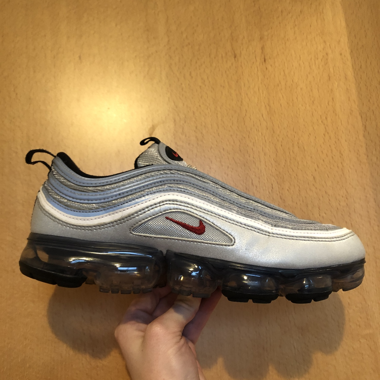 huge discount 2bbbb 02851 Nike Air Max 97 Vapormax Silver Bullet - Bought from... - Depop