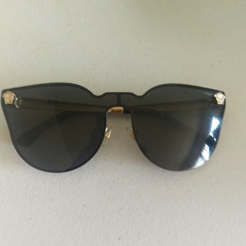 da681a45a2fa Authentic Versace sunglasses that have been worn less then 5 - Depop