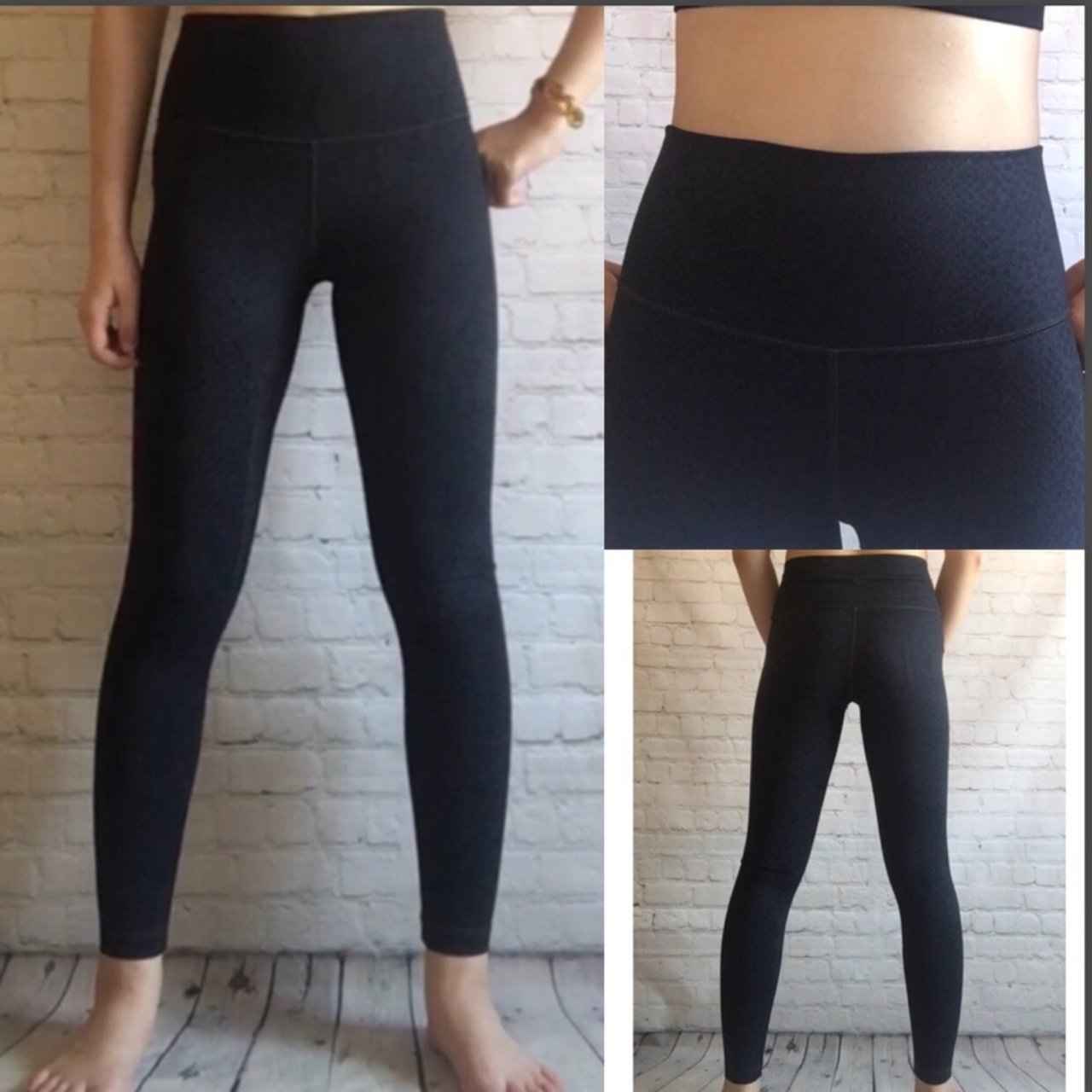3b1cd05c49 @kwanaka. 10 months ago. New York, United States. Lululemon High Waisted Black  Printed yoga legging