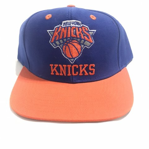 178abcae14747 New York Knicks Baseball Cap New without tags Color   Blue - Depop