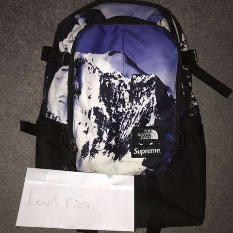 get cheap 07c04 c4d65 🚫🚫🚫SOLD🚫🚫🚫Supreme x tnf mountain backpack, bag. All in - Depop