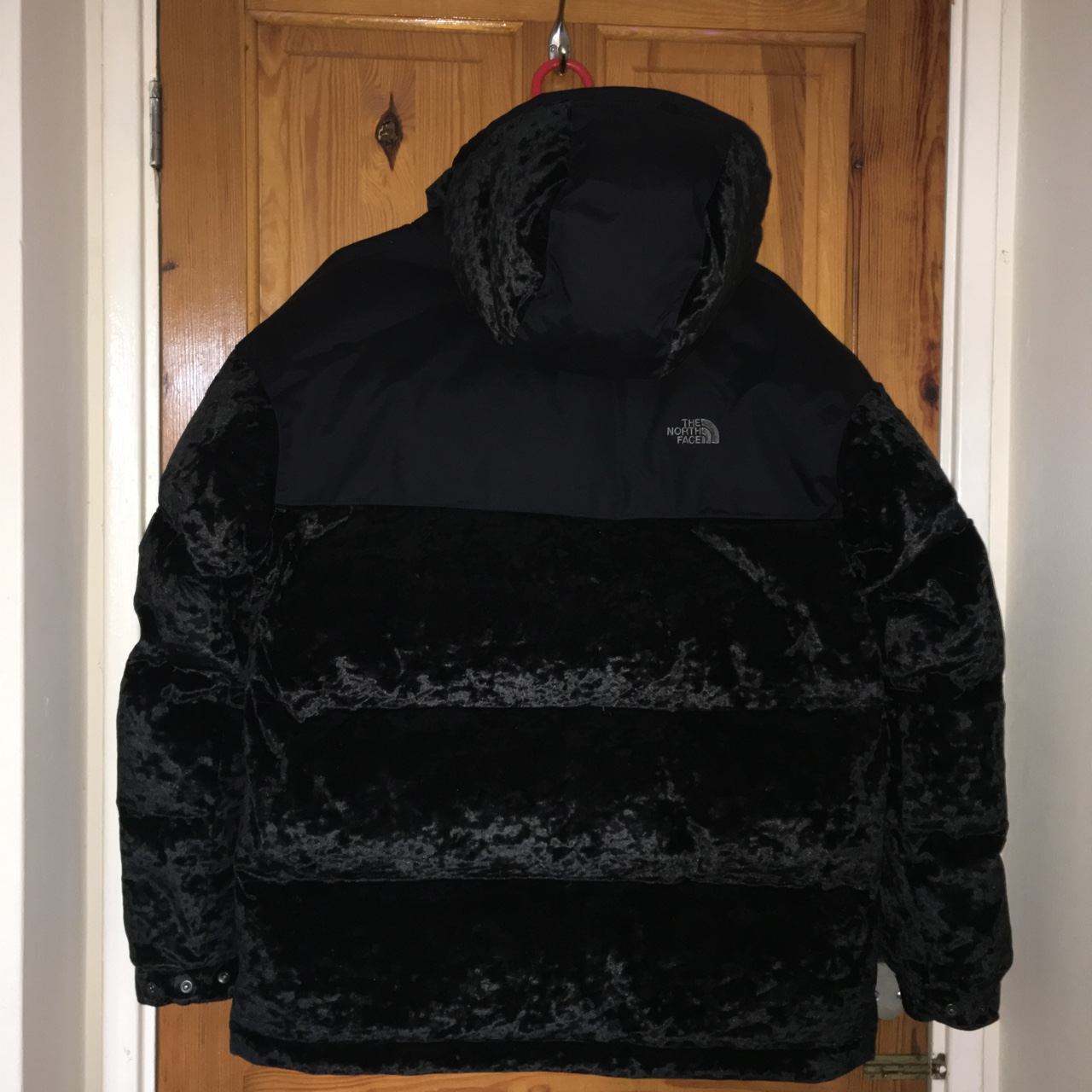 5e7e83e17 THE NORTH FACE BLACK SERIES URBAN VELVET NUPTSE... - Depop
