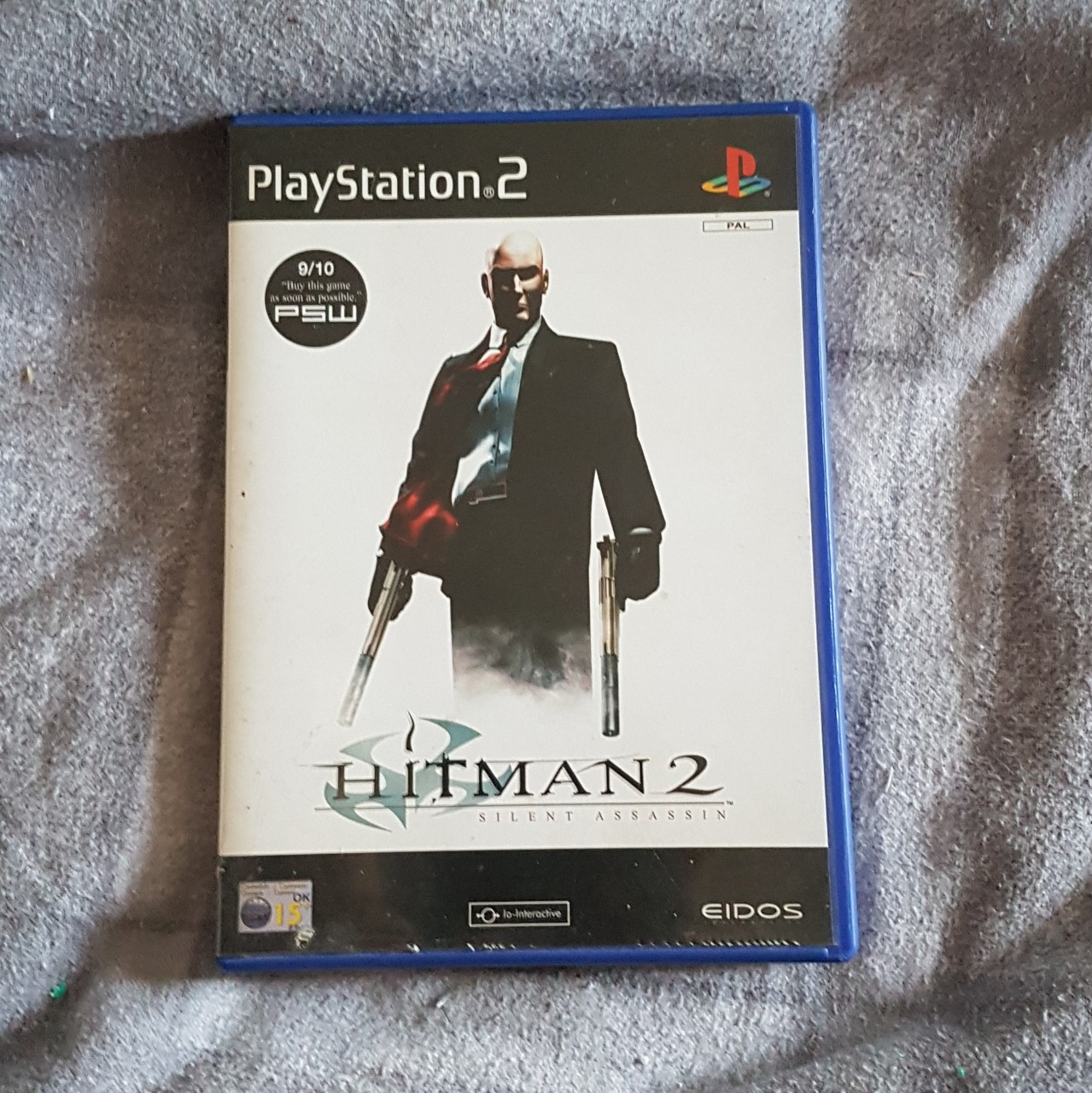 Ps2 Hitman 2 Silent Assassin Missing Instruction Depop