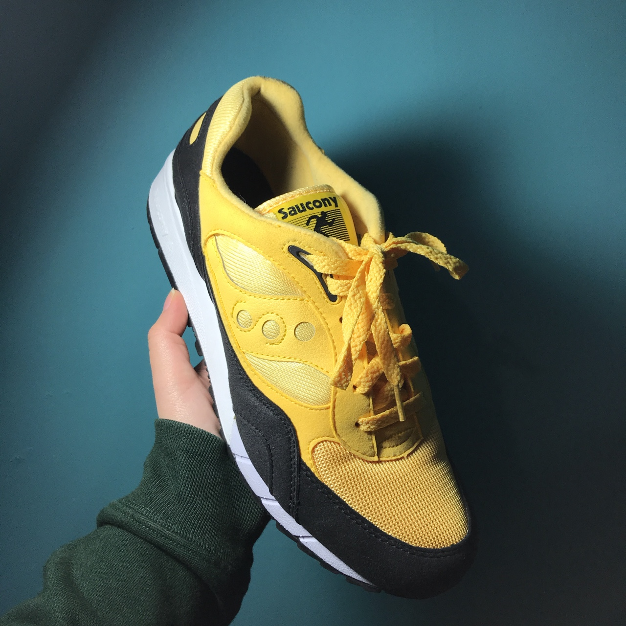 huge selection of e9eec cef23 Saucony Shadow 6000 Black Yellow Sneakers Come With ...