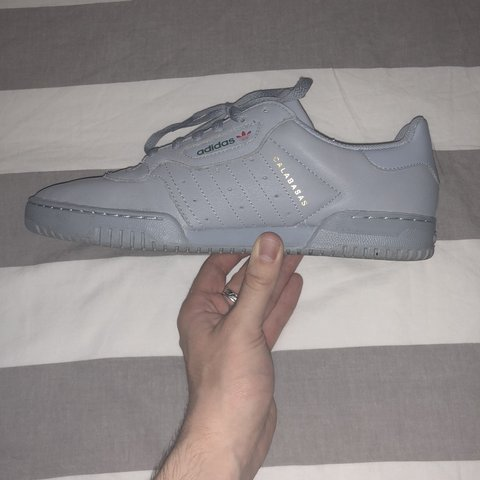 6a73090ced3 Adidas Yeezy Powerphase - Grey Size UK 9 1 2 Condition a - Depop