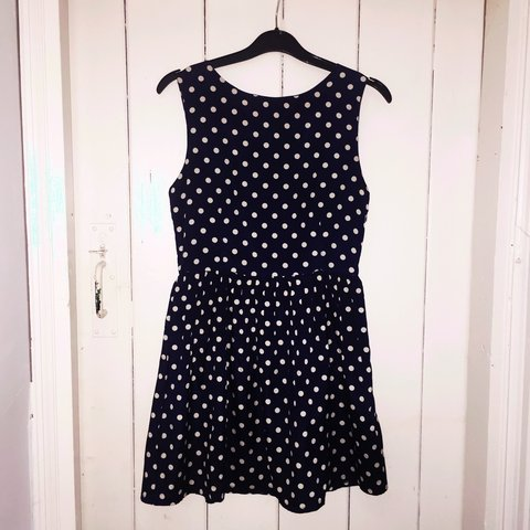 0bcc39fce0 Mela Loves London UK8 EU36 polka dot dress. Cute day dress. - Depop