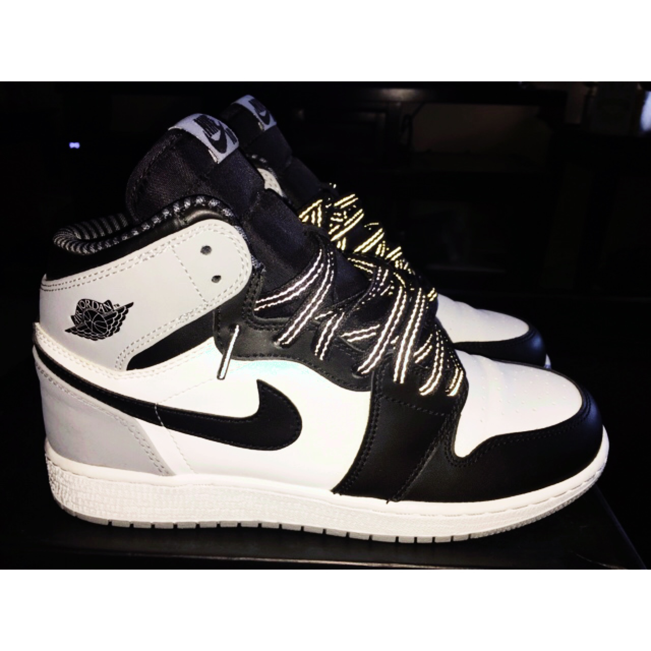 official photos 488fe 0dd11 Jordan retro 1 Barons. Condition: 9/10. Only worn once. - Depop