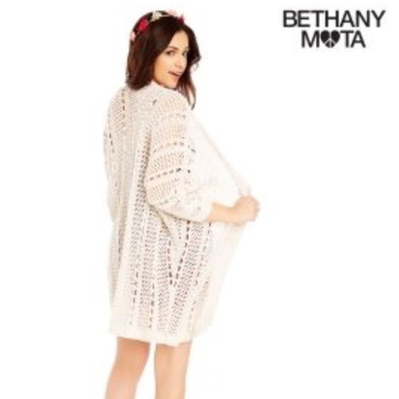 Bethany Mota Long Cardigan. Lol sorry about my try on outfit - Depop 61beb01e6