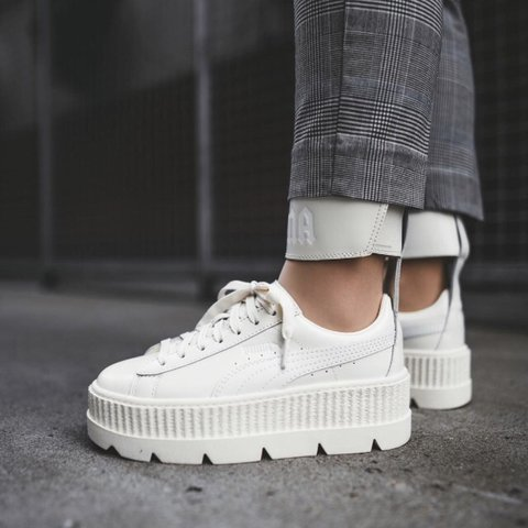best website be470 a0c4e FENTY CLEATED CREEPERS - fenty x puma. Used to have... - Depop