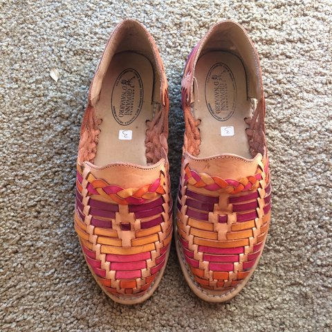 1d40603986e958 Authentic  Mexican  Huaraches  sandals purchased in Never 3 - Depop