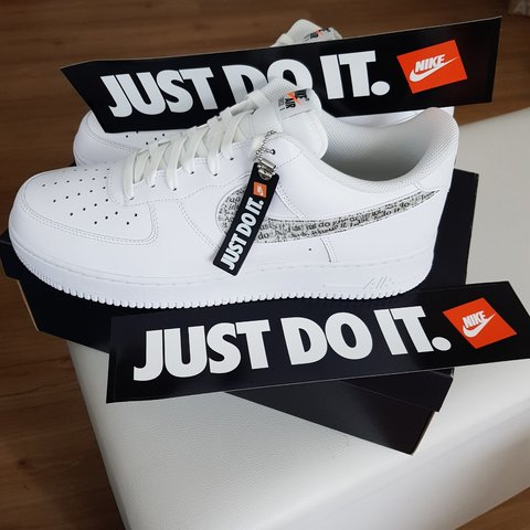 a13e2f20e8890 Nike air force one 1 just do it pack limited special edition - Depop